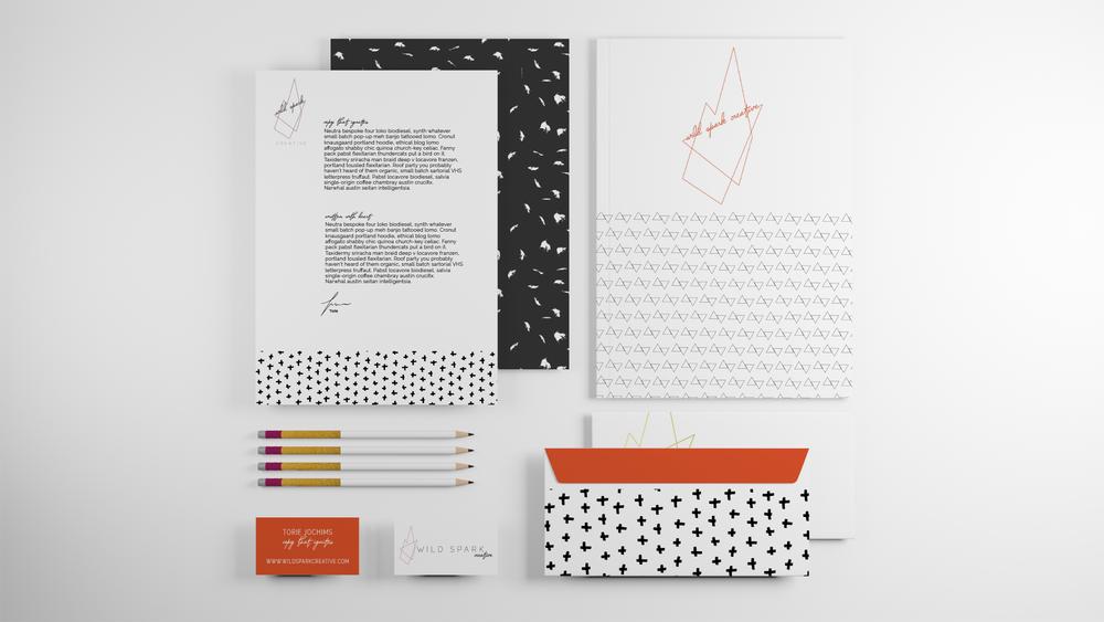 Wild Spark Creative Branding- Revamp Design Studio