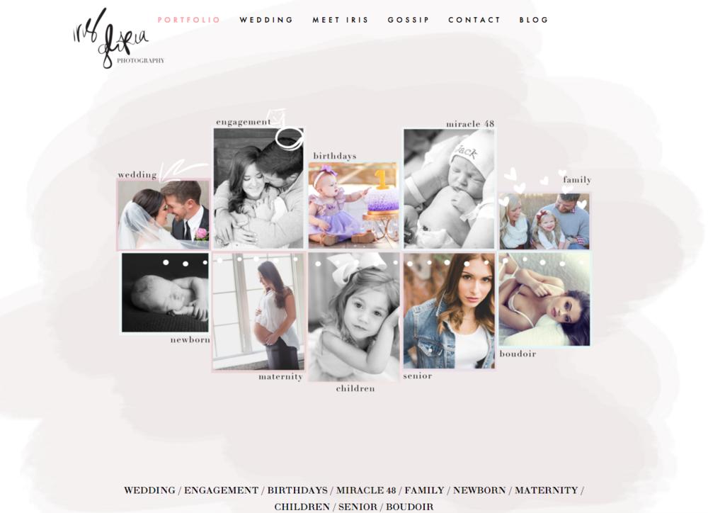 squarespace web design- Revamp Amor Design Studios