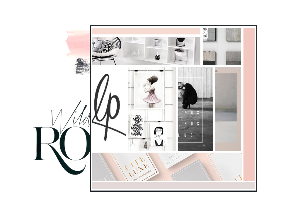 BRAND INSPIRATION BOARD (project emme)  0from the Revamp, Amor Design Studio