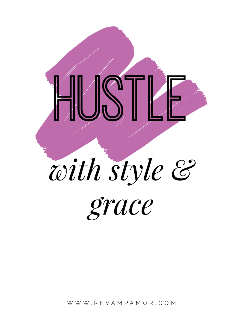 hustle- print