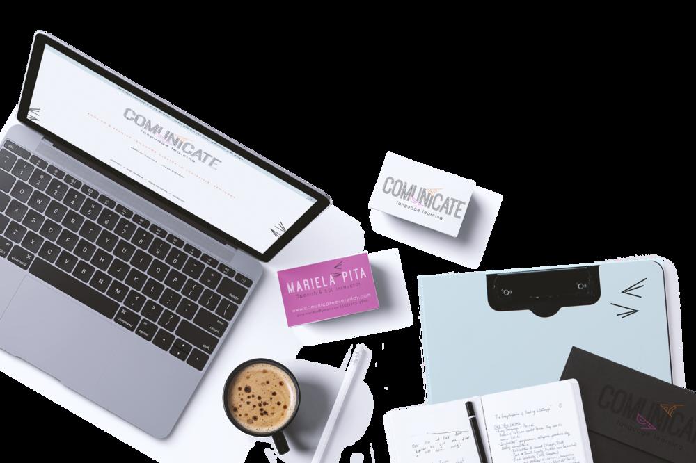 Comunicate- branding & web design from the Revamp, Amor Design Studio