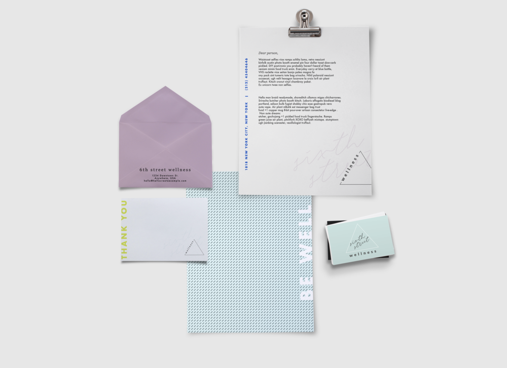 brand identity design- logo, color, typography- therapy and wellness