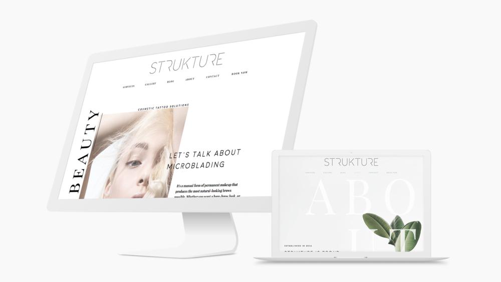 brand identity + web