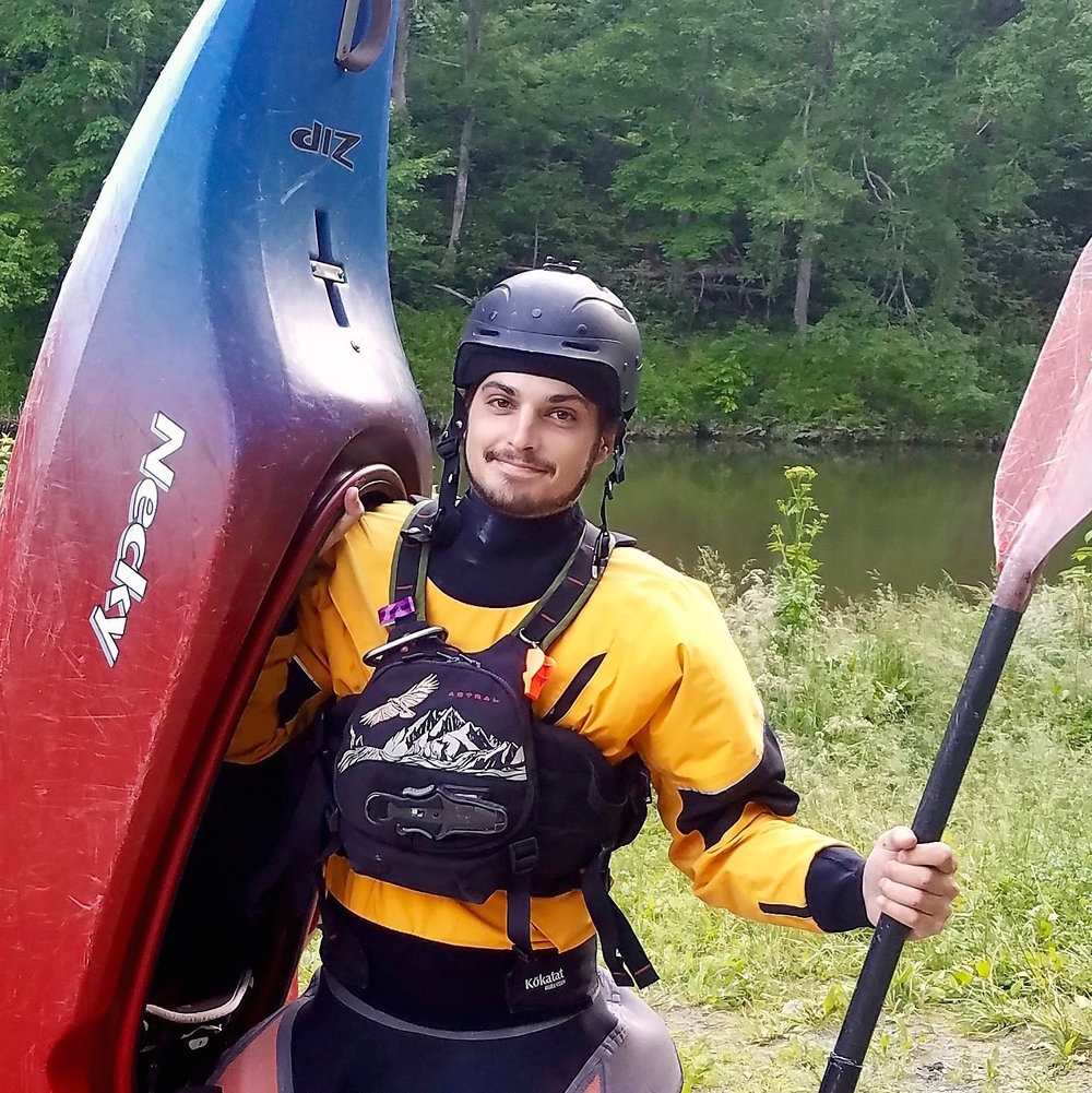 Rob Carpinelli   Course Operator, Zip Line Tour Guide, Gear Up & Ground School Facilitator