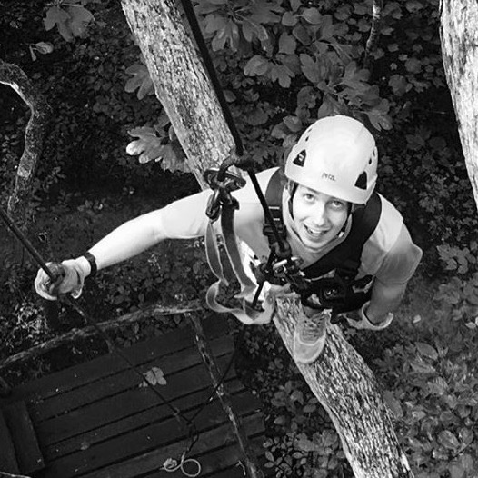 Graham Gibson   Course Operator, Zip Line Tour Guide, Gear Up & Ground School Facilitator
