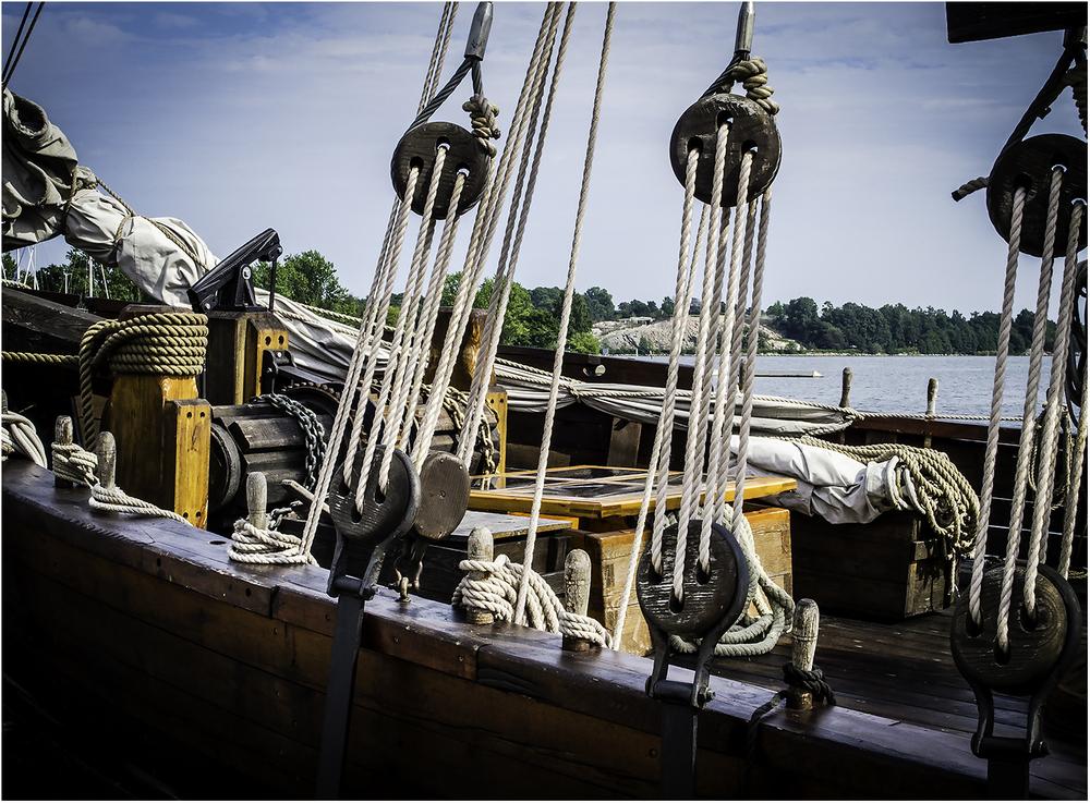 Части старинного корабля. Хельсинки 2008