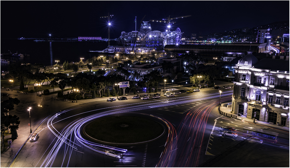 Ни много ни мало, а будущий поворот AzNeft трассы F1 Гран При Баку