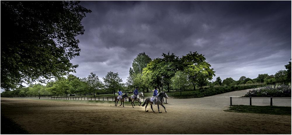 Hyde park horse ride