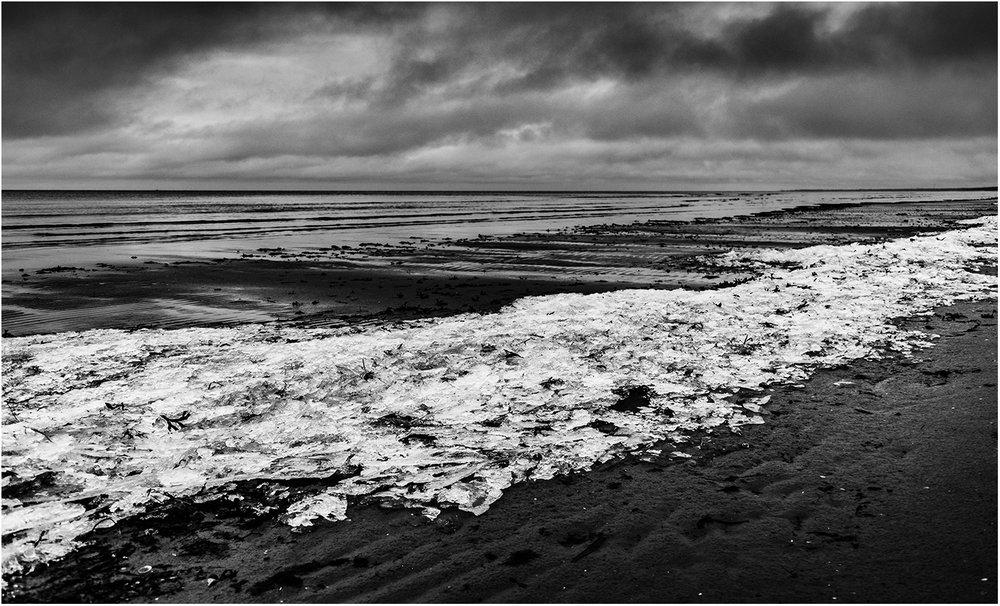 Море, песок и лед...
