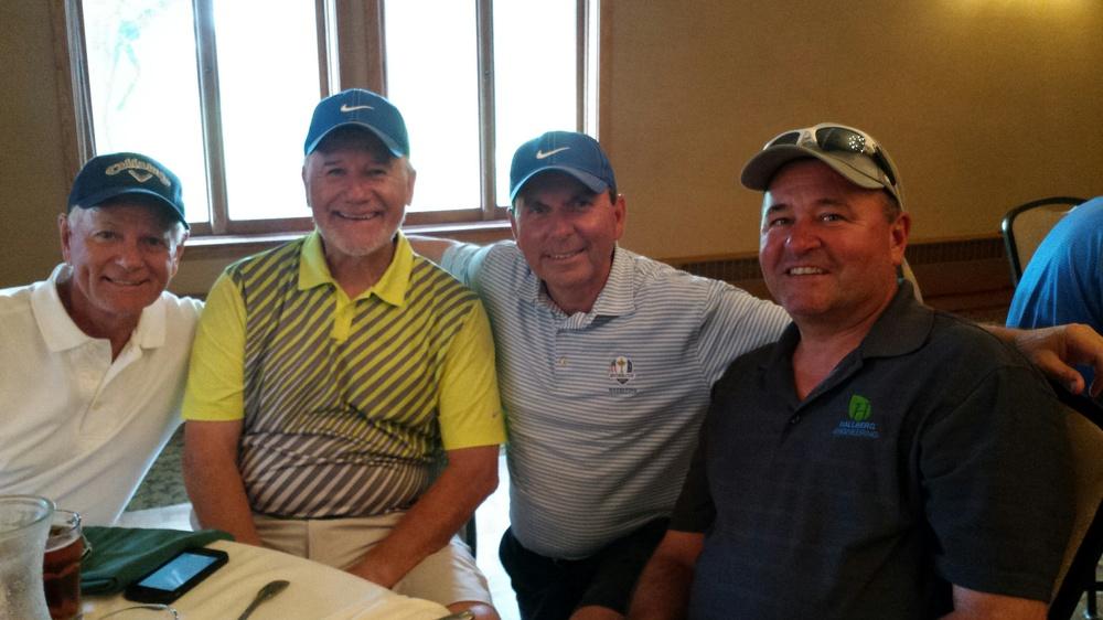 Zeke Niedzilski, Darryl Rangel, Rick Lucio and Terry Olson