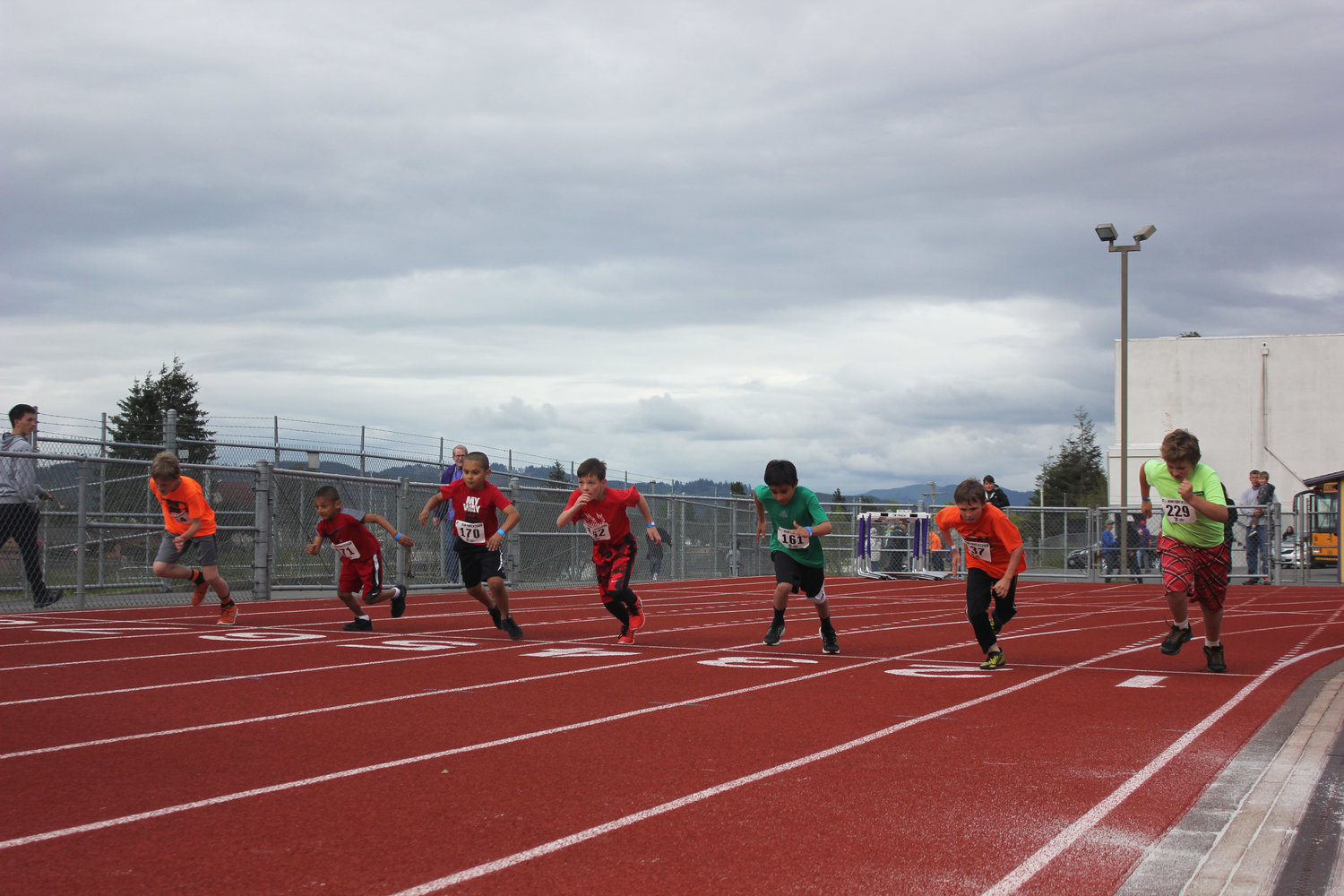Meets TrackTown Youth League - Us track and field map my run