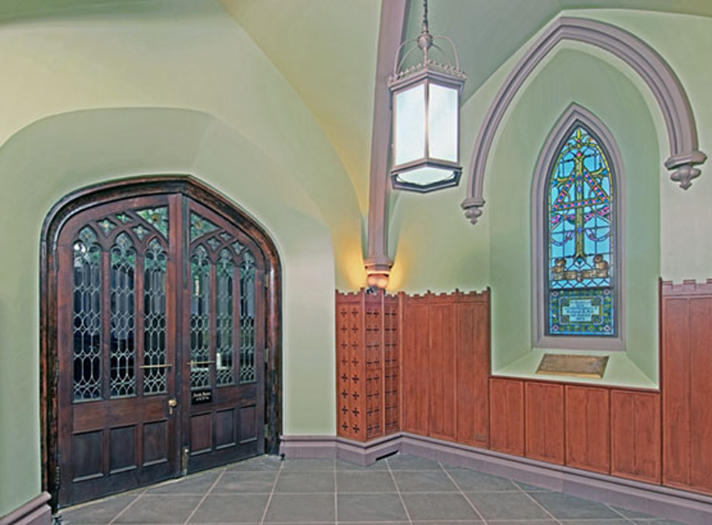 church entry