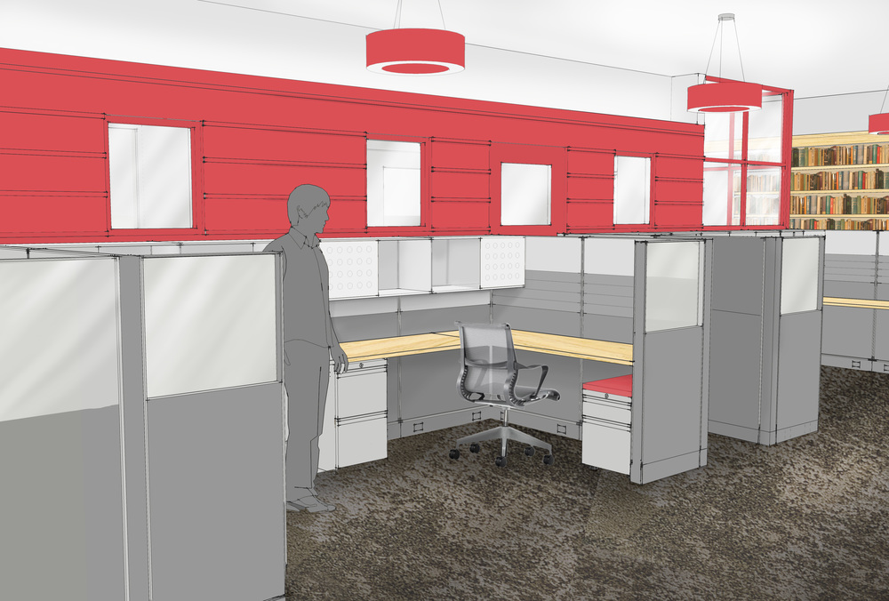 DPA cubicle rendering