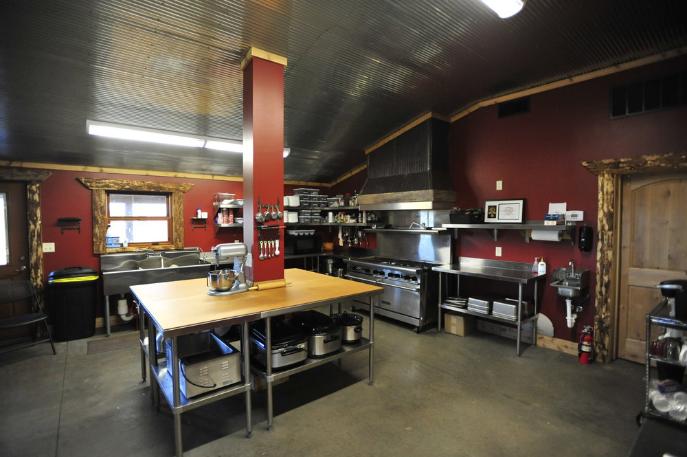 Commercial Kitchen within Event Center