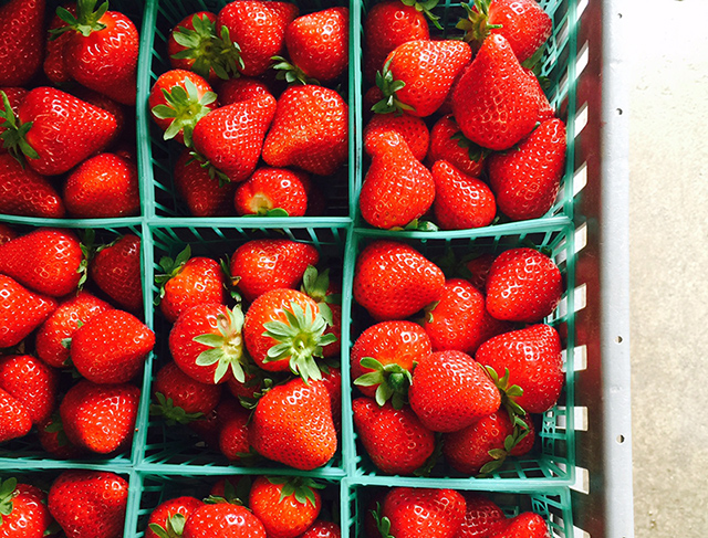 Amandine strawberries