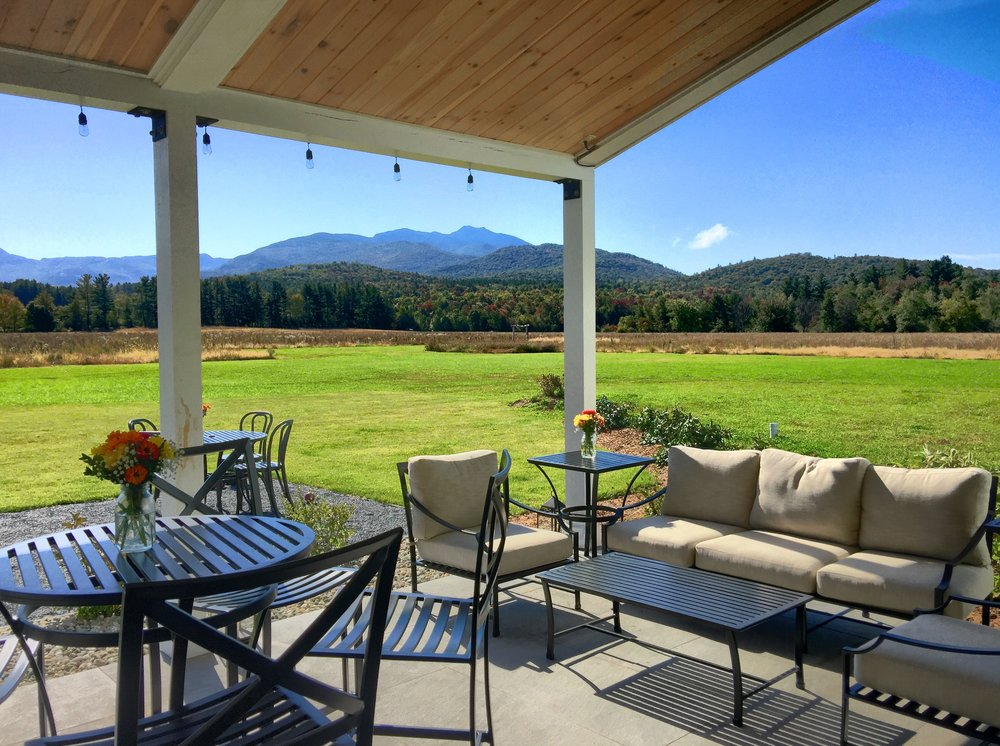 With Comfortable Seating, Lighting, Ceiling Fans, Sound System And  Fantastic Views Of The Great Lawn And The Mountains, The Covered Patio Is A  Great Place ...