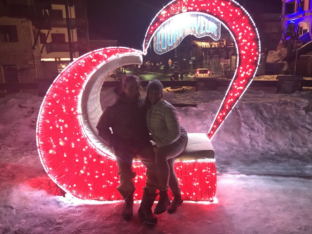 Valentine's Day Courmayeur, Italy…Mt Blanc / Chamomix.  Owner's of   Stowe Wedding Venue  , The Barn at Smugglers' Notch.