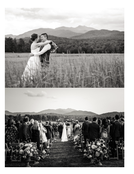 Mt Mansfield is the largest mountain in Vermont and the perfect backdrop for your memories of your Stowe wedding.
