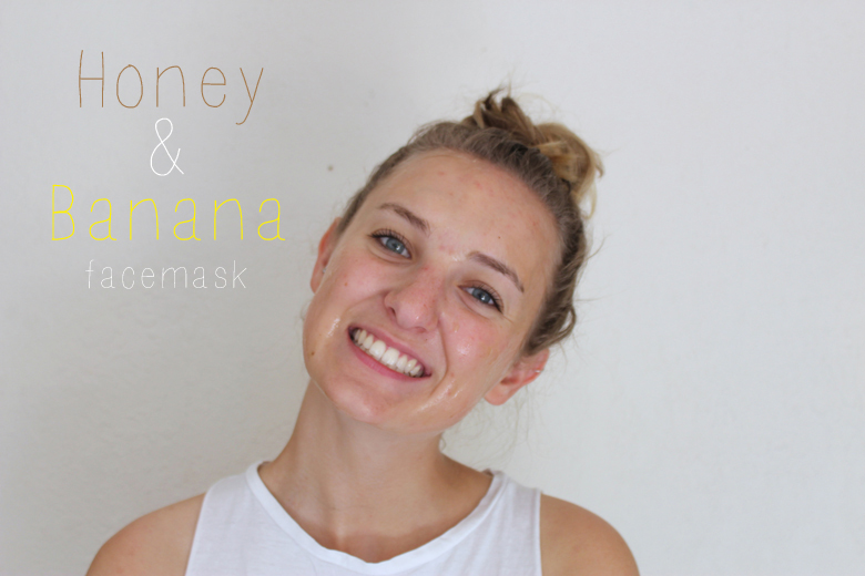 Banana Honey face mask