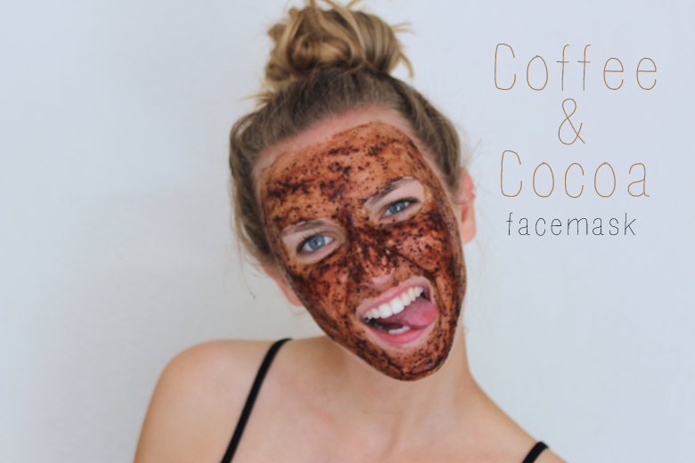 Coffee & Cocoa facemask
