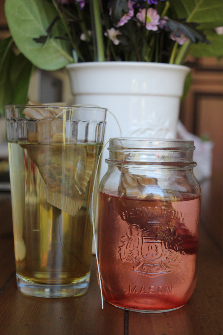 cold brew tea-- Cashmere and Plaid blog