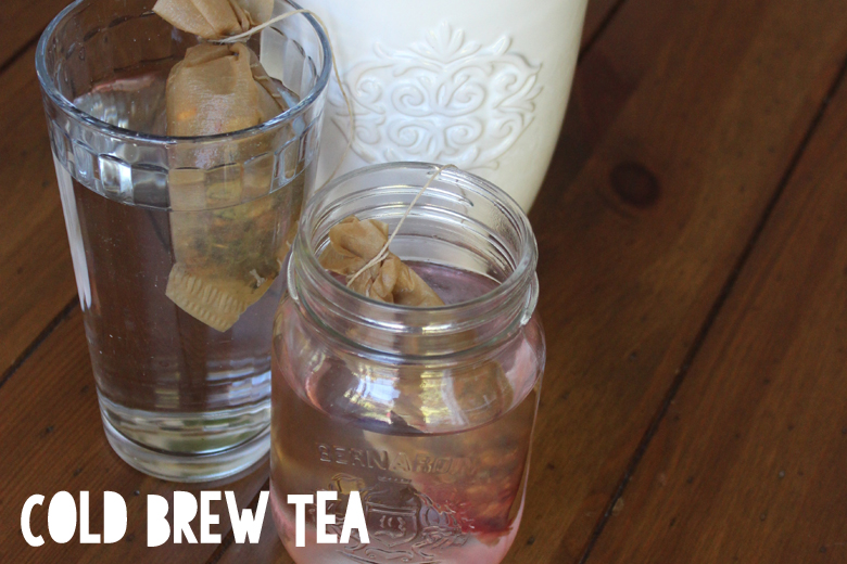 cold brew tea // Cashmere and Plaid blog