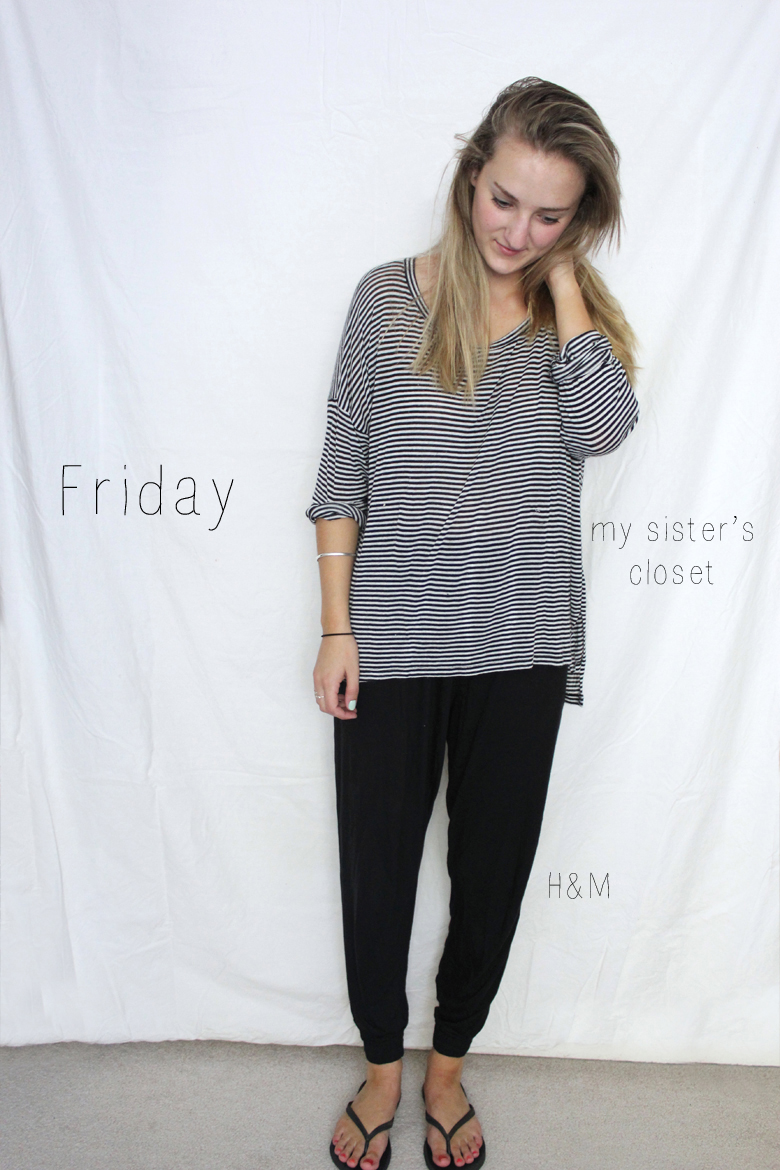 comfy friday outfit