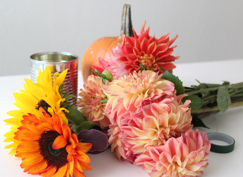 diy thanksgiving center piece