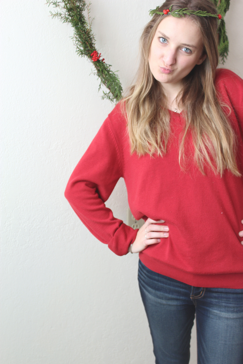 Christmas Outfit post