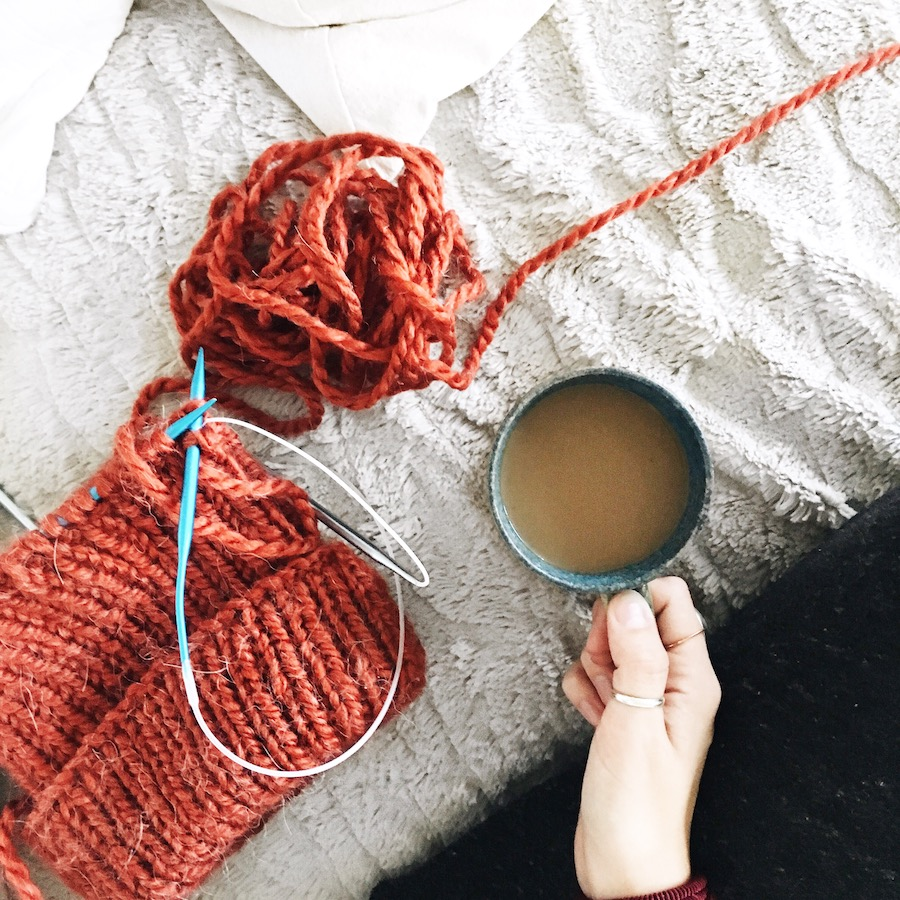 coffee-and-knitting