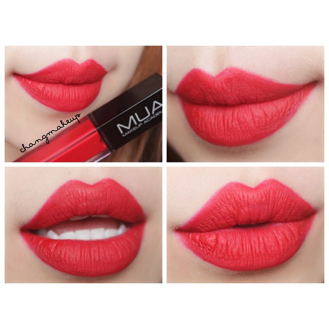 "MUA LIQUID LIPSTICK ""BRIGHT RED"""