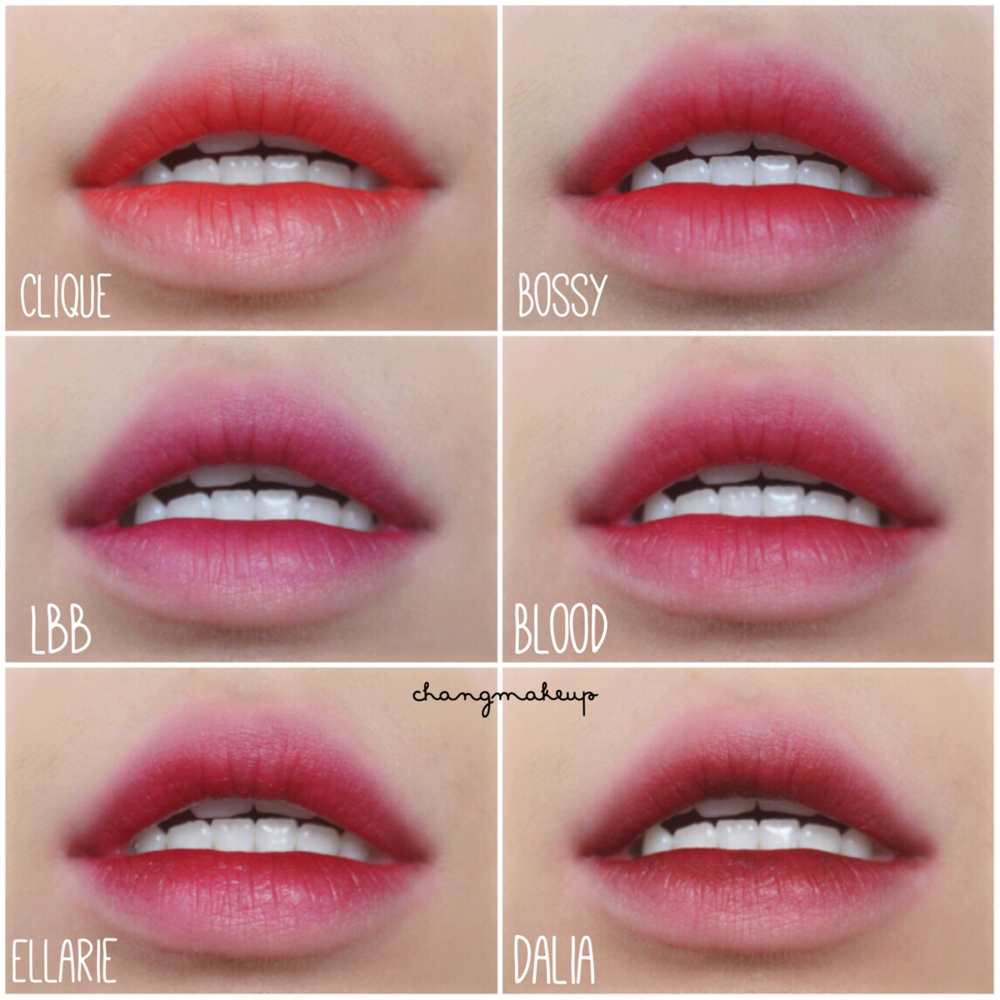"COLOURPOP LIPPIE STIX ""CLIQUE"" - ""FRENCHIE"" - ""I HEART THIS"""