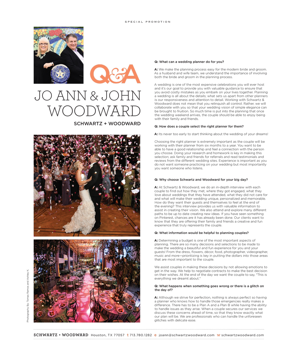 Q & A Wedding Planners Houston