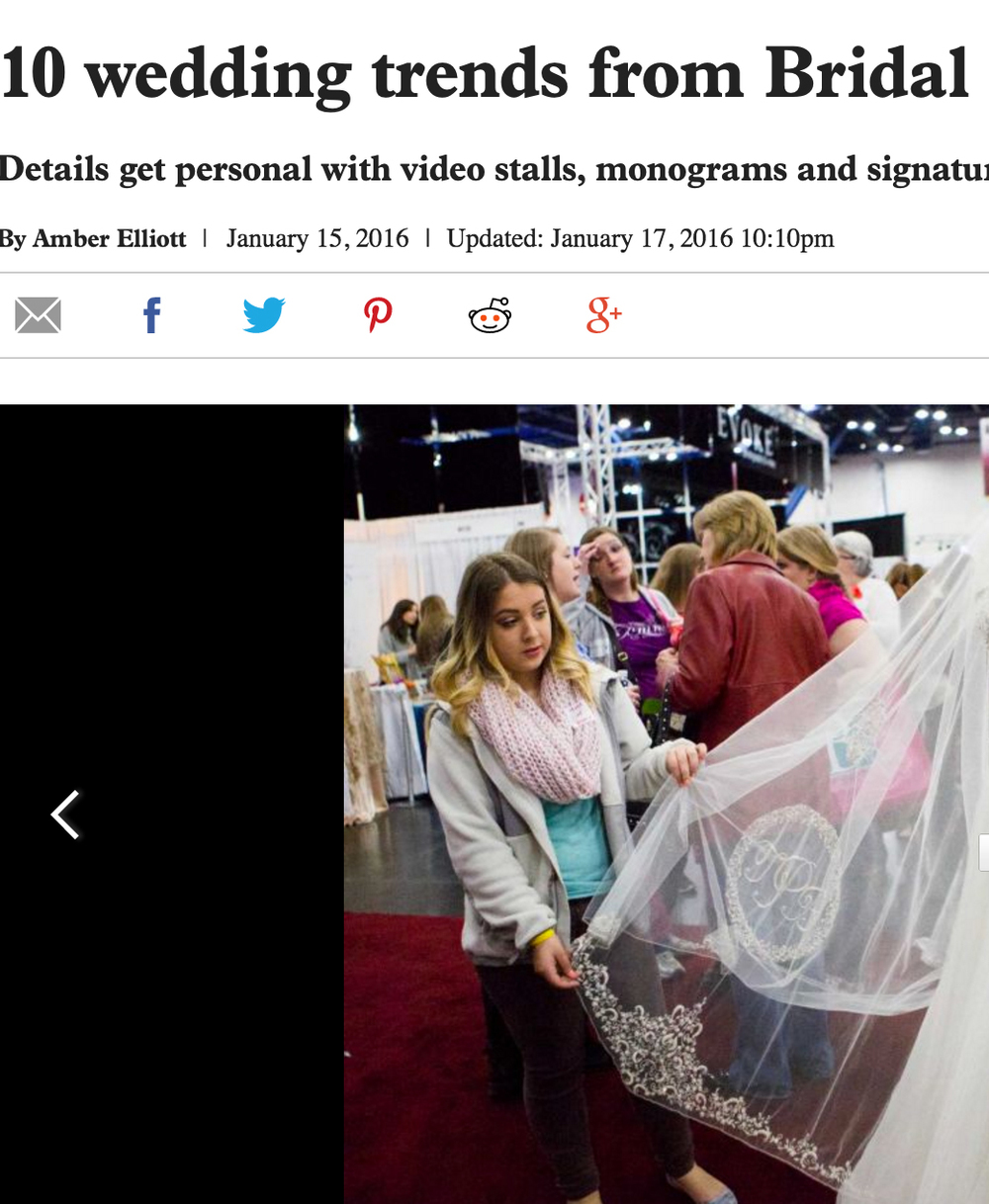 10 Wedding Trends from The Bridal Extravaganza Show - Houston Chronicles