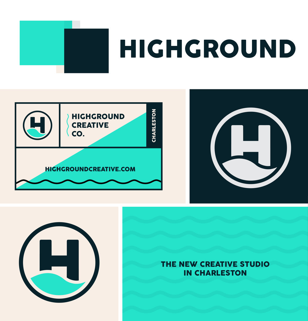 HighGround Creative Co. Branding
