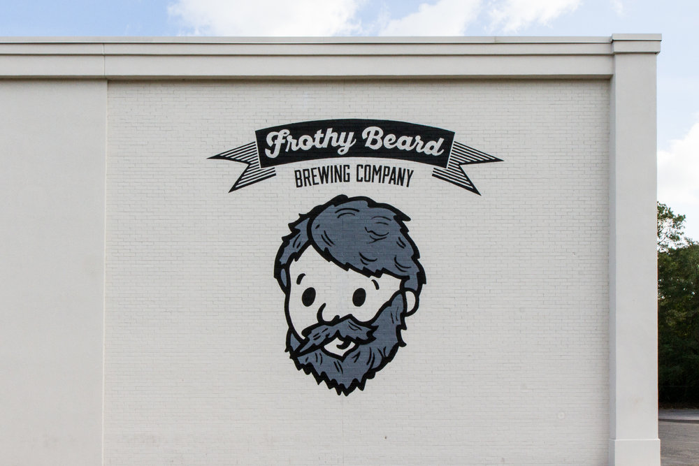 Frothy Beard Mural Design
