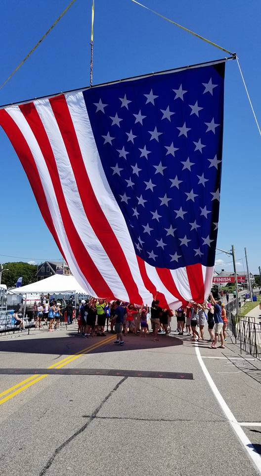 Falmouth Road Race - DC Rentals was front and center providing logistics, security, vehicles & Announcers with course wide digital radio coverage.