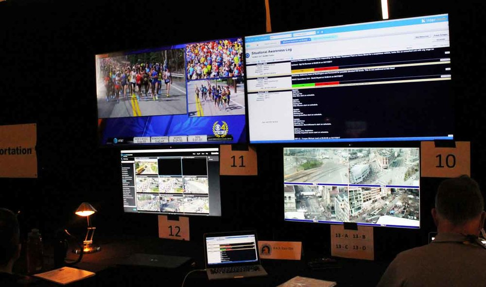 Unified Command Center | Boston Marathon