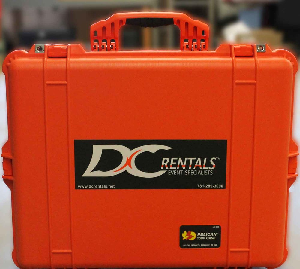 "DC Rentals ""Go-Kit"" equipped with radio communications"