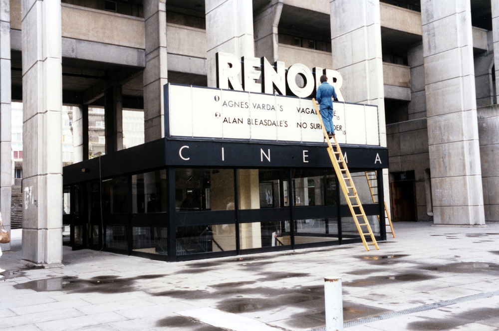 The Renoir cinema after the refurbishment in the 1980s, operated by Artificial Eye.