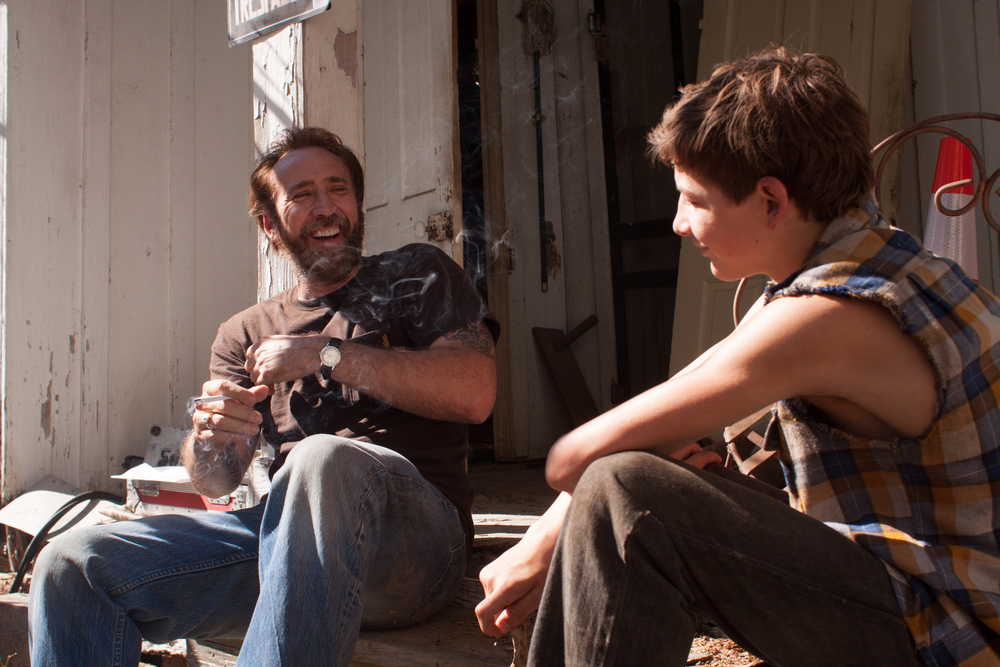 Nicolas Cage and Tye Sheridan in Joe