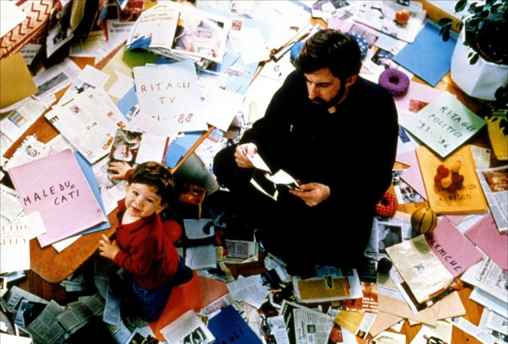 With son Pietro in  Aprile