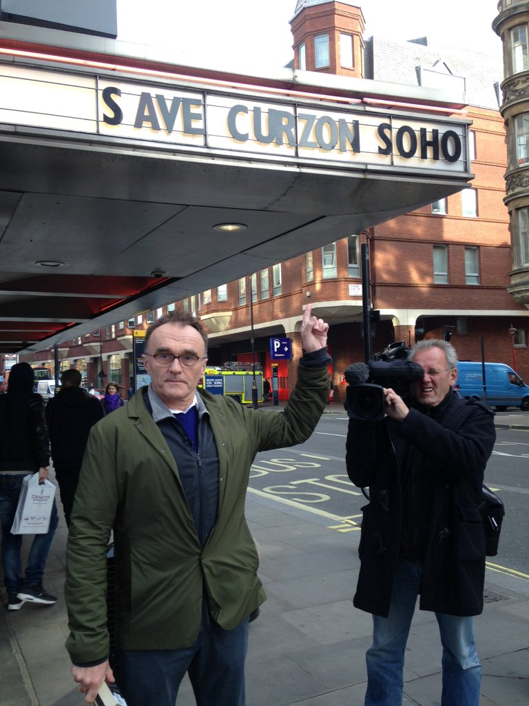 Danny Boyle says Save Curzon Soho