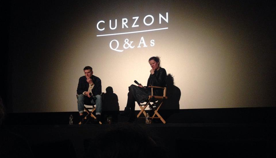 Harry Macqueen at the premiere of his film Hinterland at Curzon Soho.
