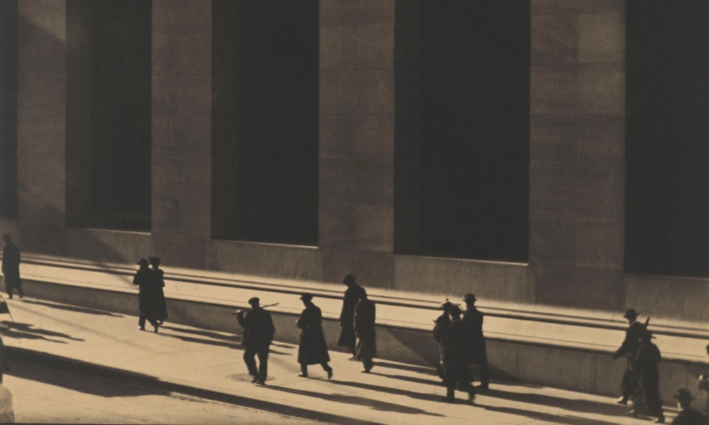 Wall Street, New York, Paul Strand, 1915. © Paul Strand Archive, Aperture Foundation