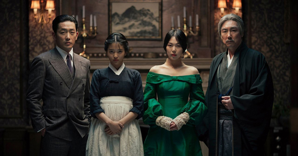 The Handmaiden  (dir. Park Chan-wook)