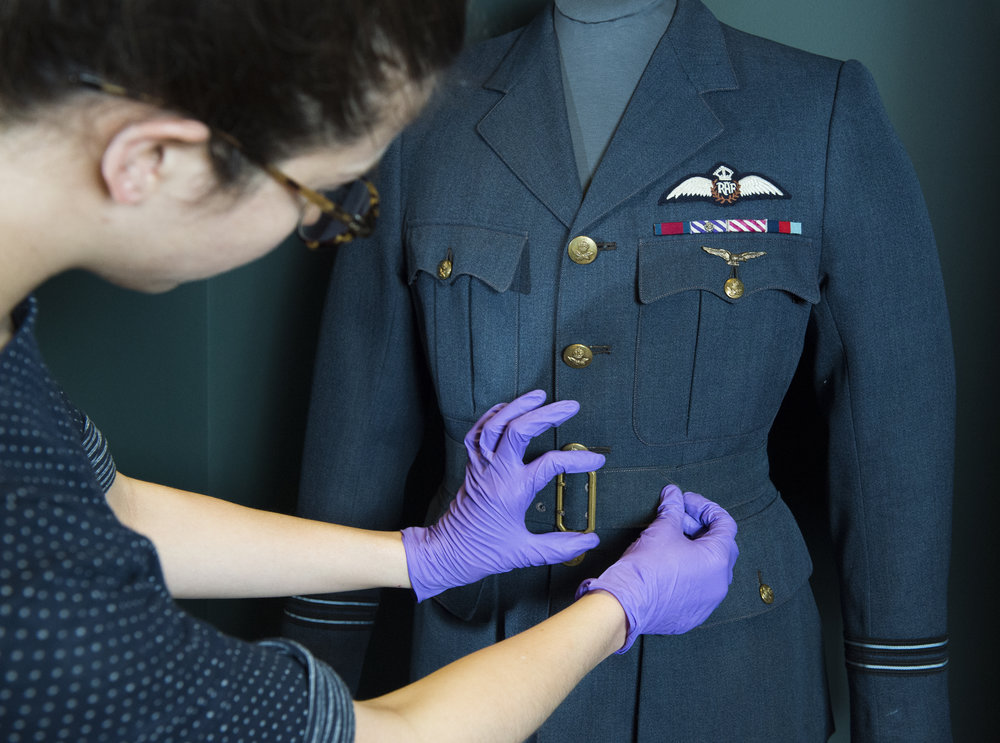 David Niven's RAF service jacket from A Matter of Life and Death