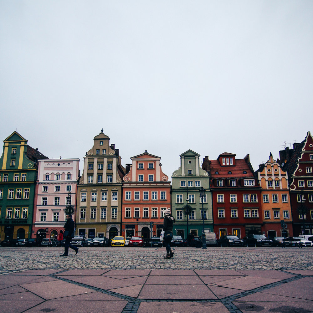 The market square in Wroclaw - photo by Jake Cunningham