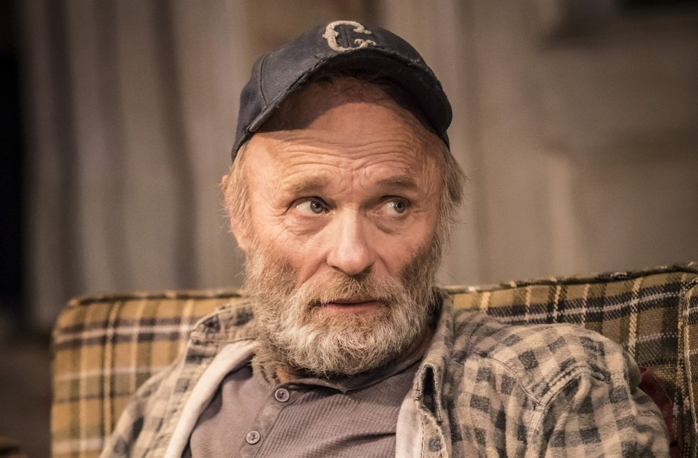 Ed Harris as Dodge in Buried Child