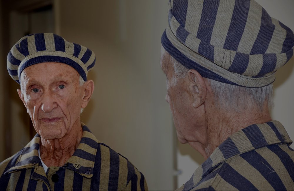 Holocaust survivor Ed Mosberg, one of the protagonists of Destination Unknown